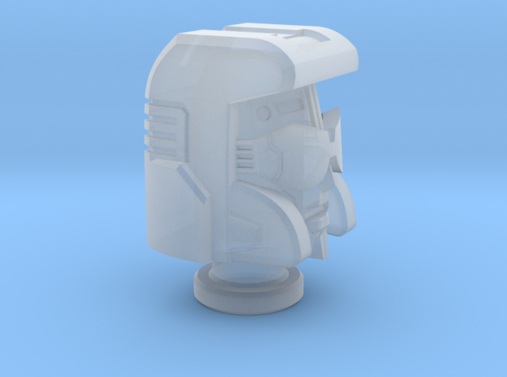 Pacifist Head for Cybertron Swindle 3d printed