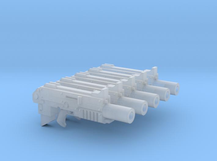 RFB Silenced Bullpup Thunderbolter #1 3d printed
