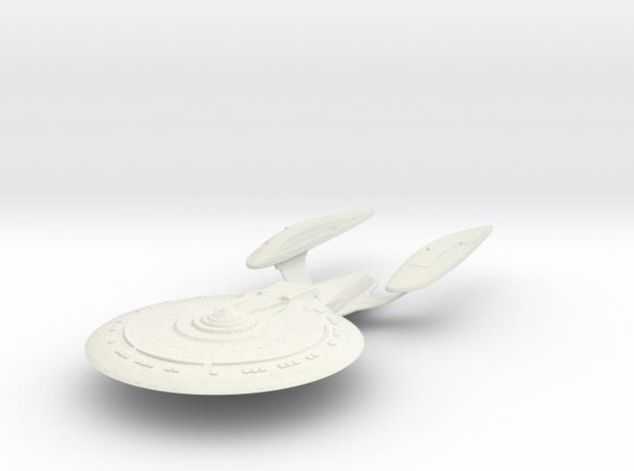 Essex Class BattleCruiser 3d printed