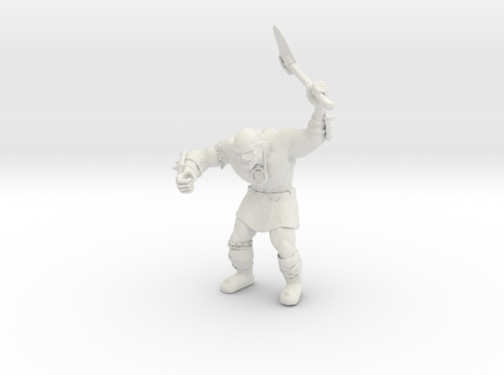 Orc WARRIOR Probe 3d printed