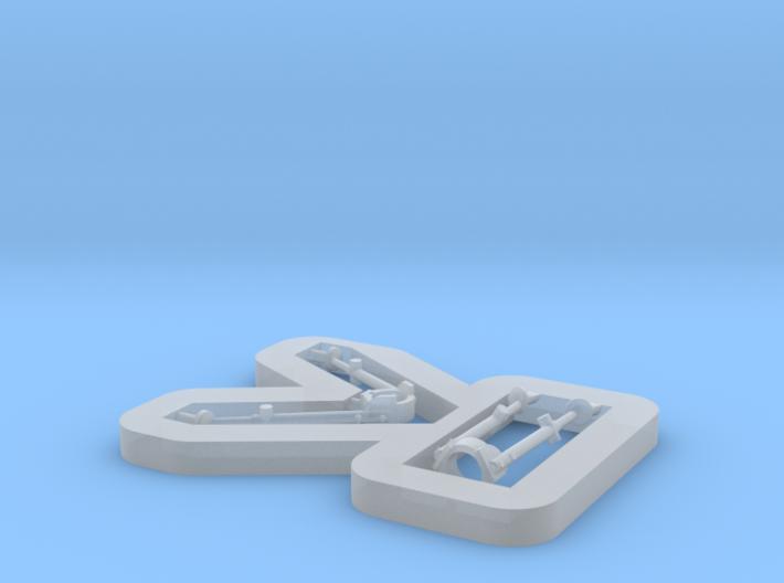 1/35 Cheytac Bipods 3d printed