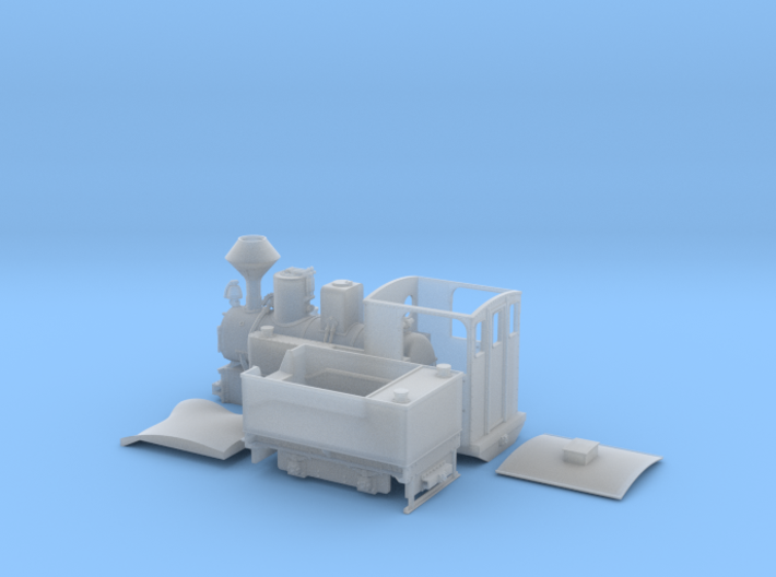 WEM Nr.1 Graf Arnim / DR993301 0e/f 1:45 3d printed