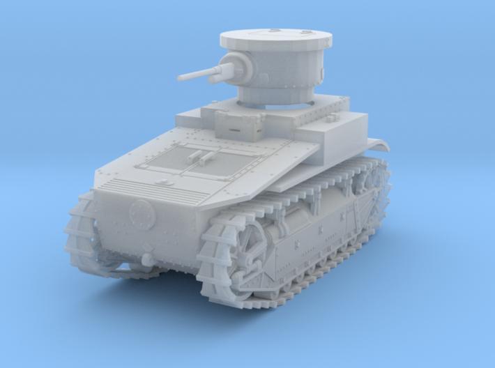 PV19B T1E2 Light Tank (1/100) 3d printed