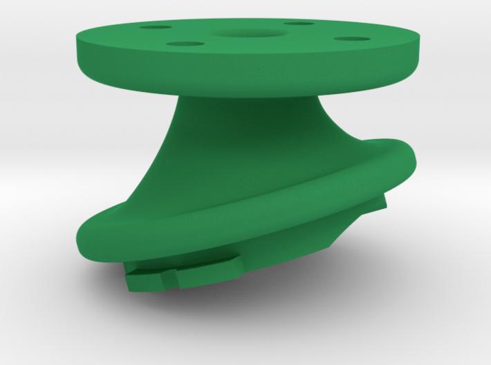 Varia Headlight K-Edge Combo Mount 17° Interface 3d printed
