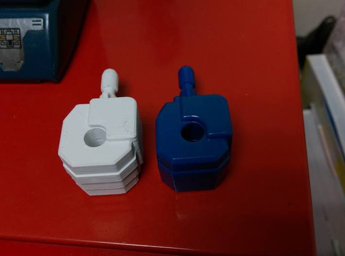 cannon bot fist 3d printed