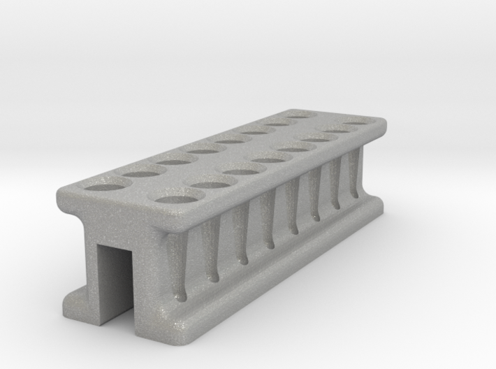 8-Tube PCR Strip Magnetic Concentrator Stand V1 3d printed