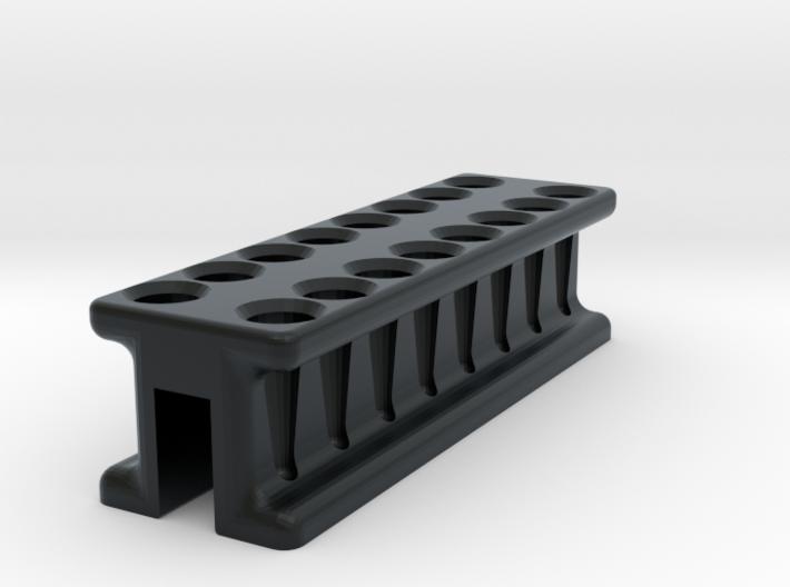 8-Tube PCR Strip Magnetic Concentrator Stand V1 3d printed