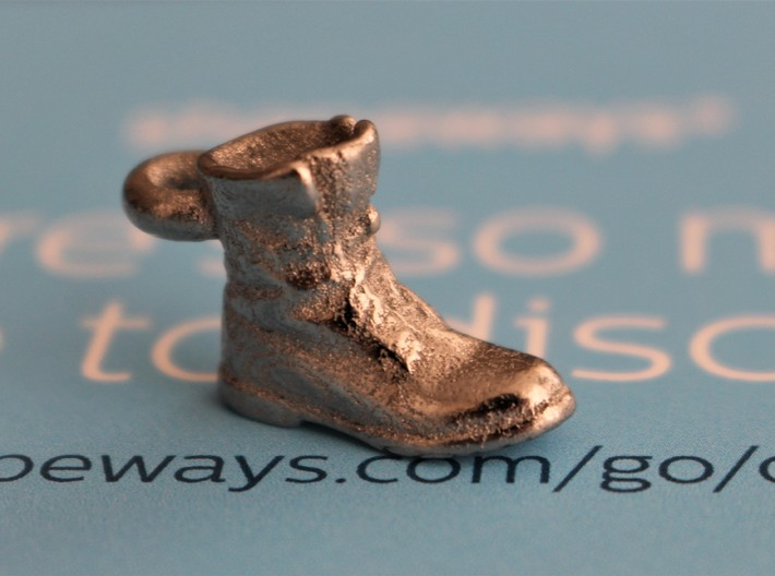 Boot Keyring 3d printed