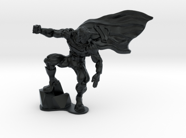Superman from the Dark Knight 3d printed