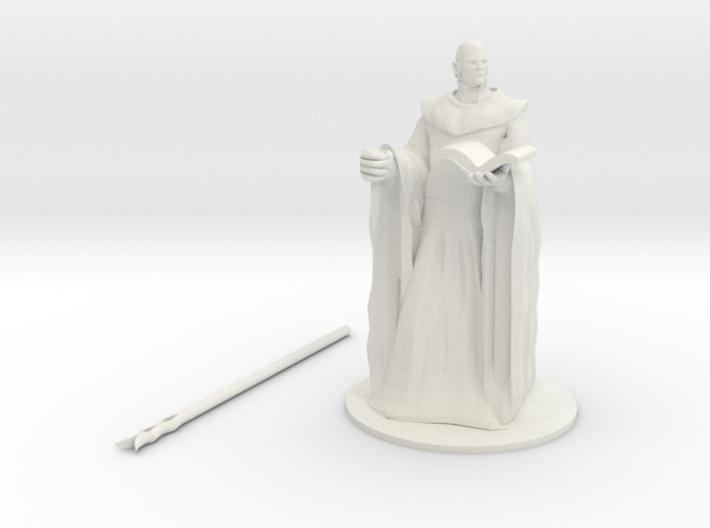 Zephyros the Cloud Giant Wizard 3d printed