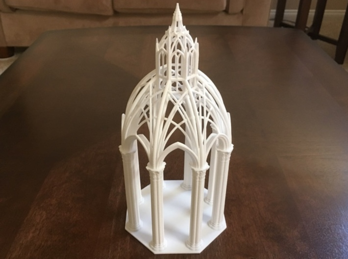 Gothic Chapel 2&3 Base 3d printed Base with Chapel 2 top