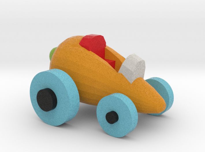 Carrot Car 4 3d printed
