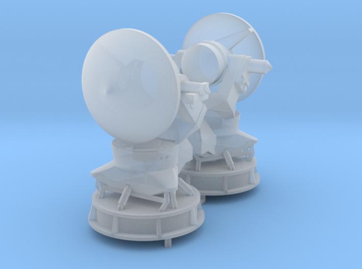 STIR radar x 2 1/144 3d printed