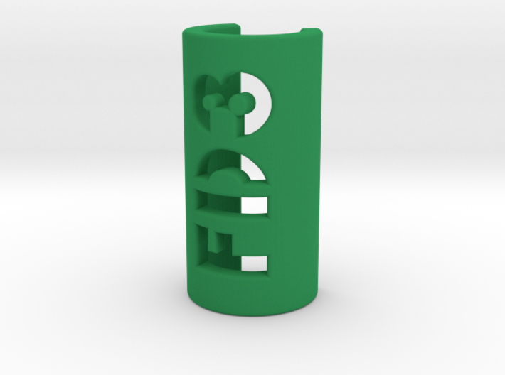 Cable tag - Customizable text 3d printed