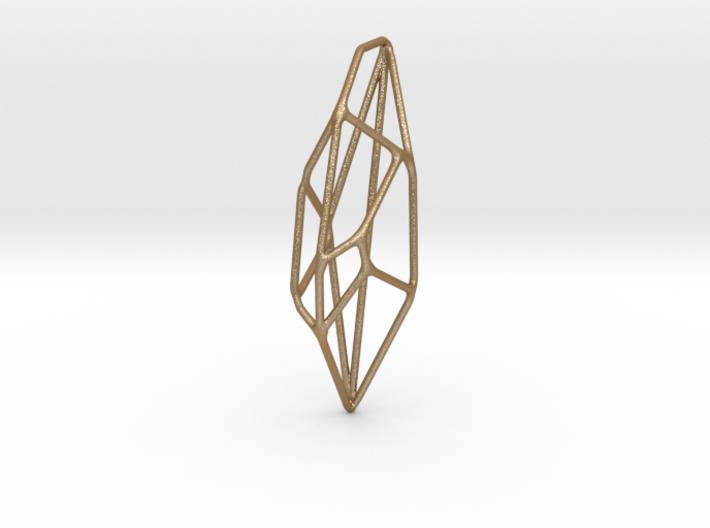 Lunar Pendant 3d printed