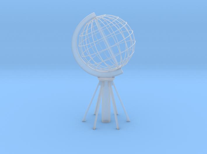 Northcape Globe 3d printed