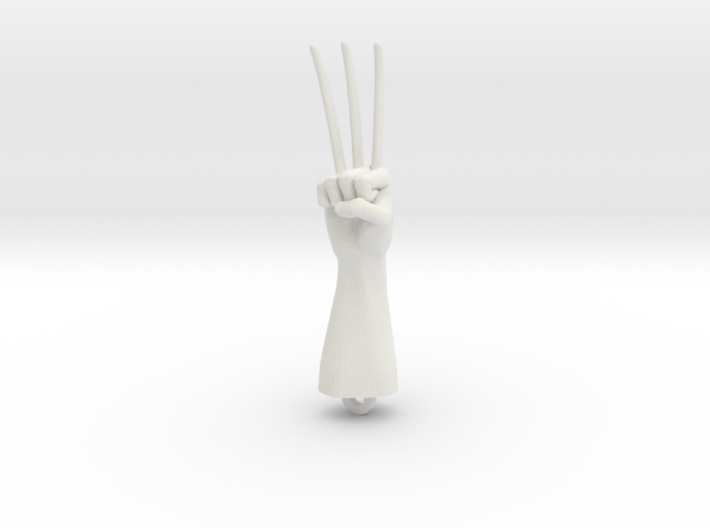 Logan Wolverine claws pendant 3d printed