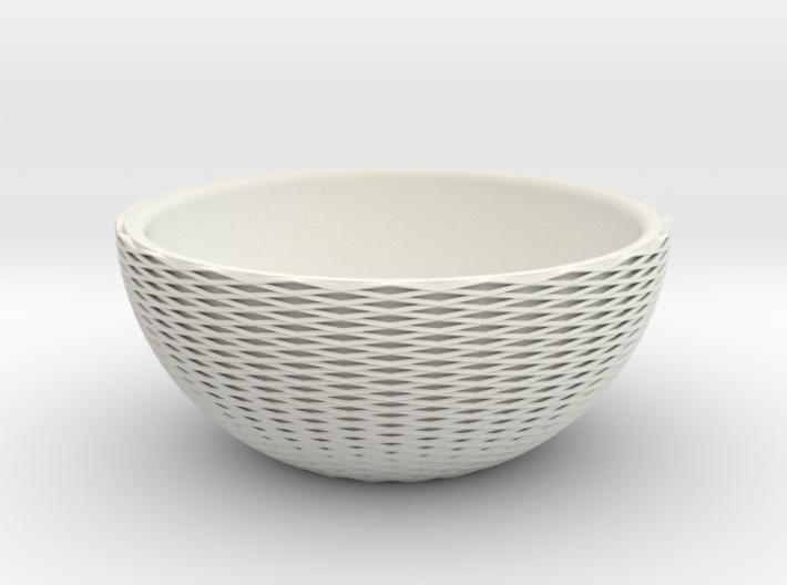Cross-Cut Bowl 3d printed
