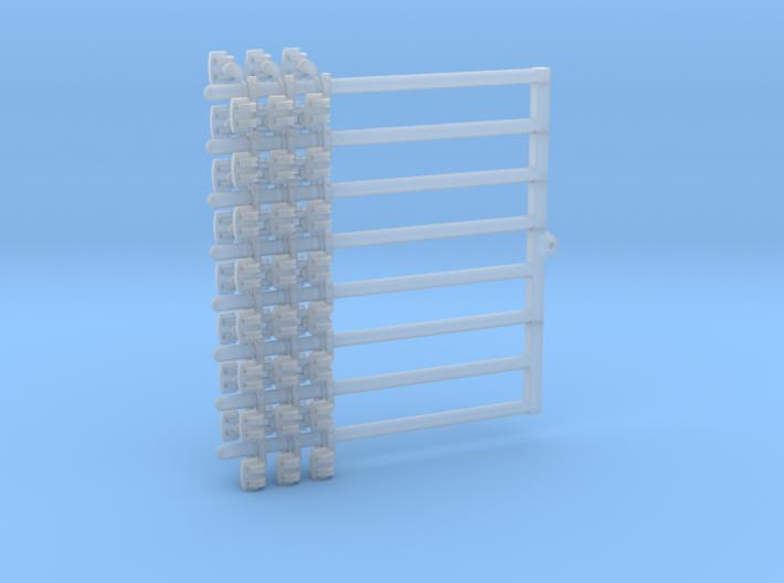 Rollenständer Einfach mit sechs Rollen 9 Stück 3d printed