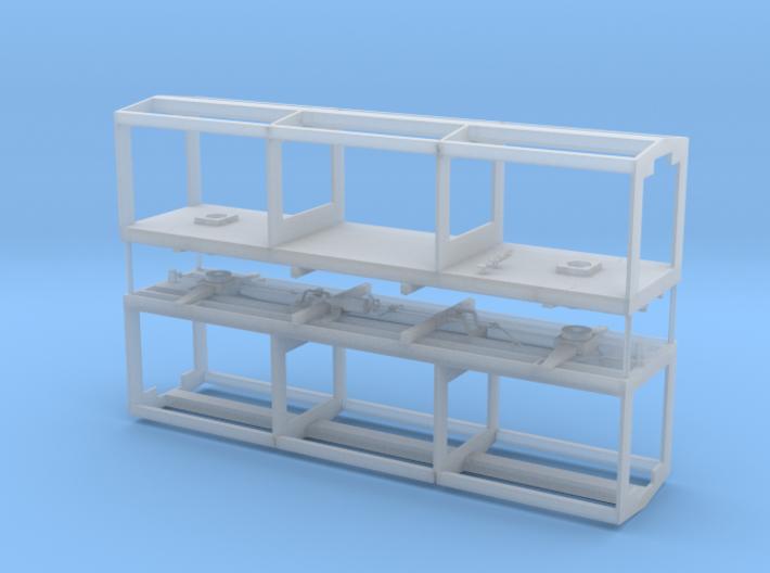 Box Car 602 (Pair) 3d printed