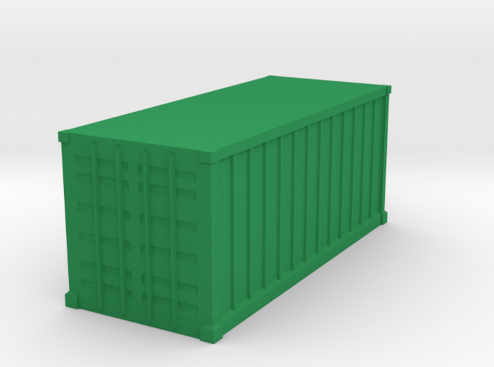 Shipping Container, Standard 20 foot 3d printed