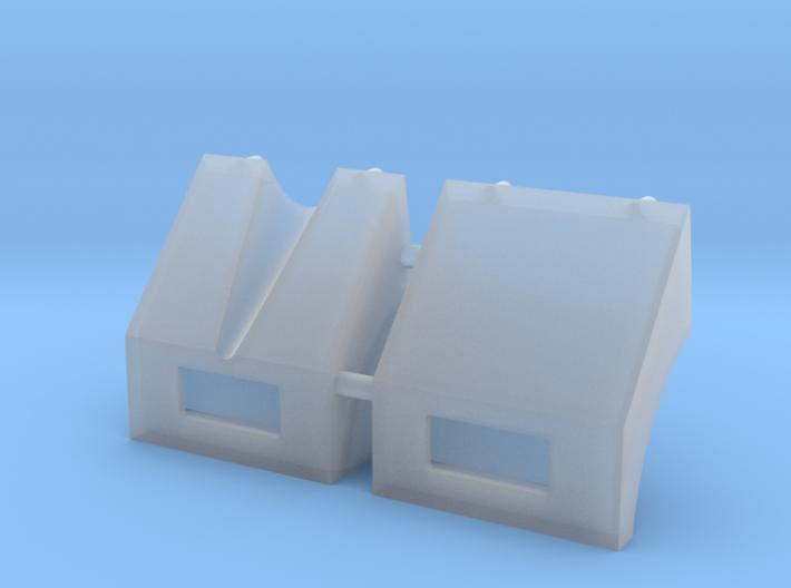 1/30 scale M113 Mudguards 3d printed