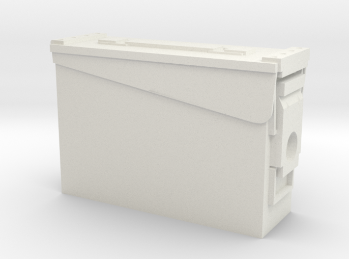 1:6 scale 30 .cal ammo BOX can x1 3d printed