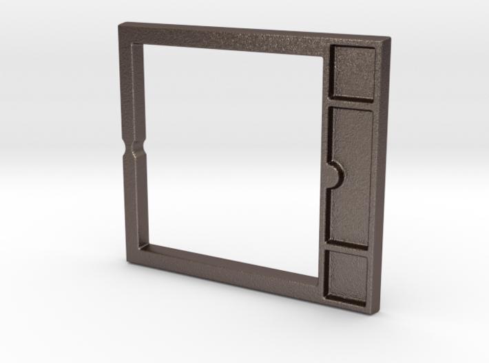 Inlay Belt Buckle 3d printed