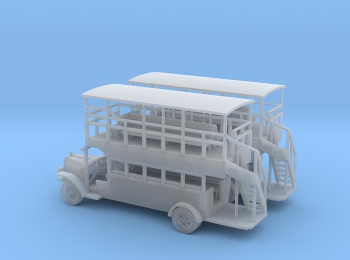 Omnibus N Scale 3d printed Omnibus N scale