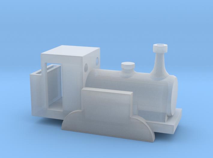Ivor the engine, N gauge body 3d printed