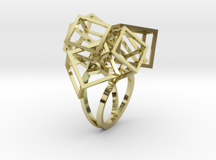 Zicube Ring 3d printed