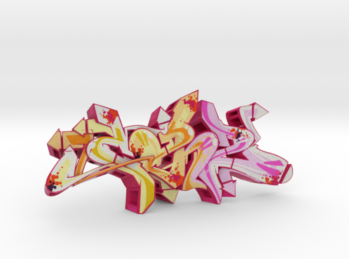 CAN2 graffiti sculpture 3d printed what's in the box
