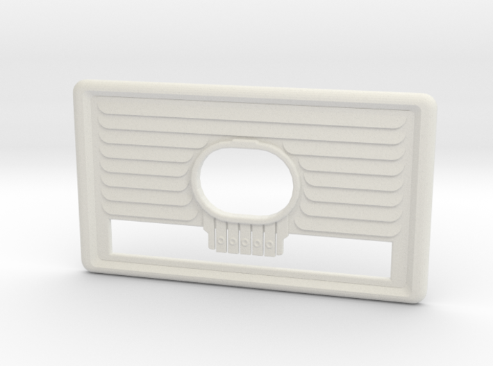 Fallout 4 radio Face Plate 3d printed