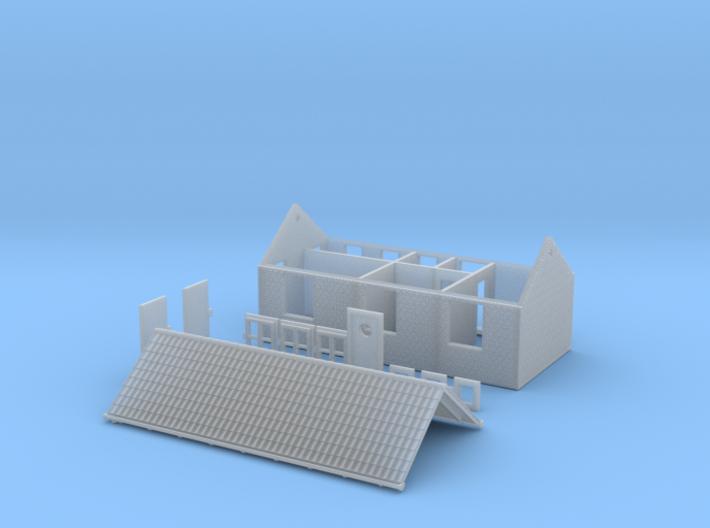 Kolonne Hus N scale 3d printed