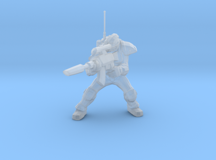 1/60 Ghost Nuclear Weapon Launching Pose 3d printed