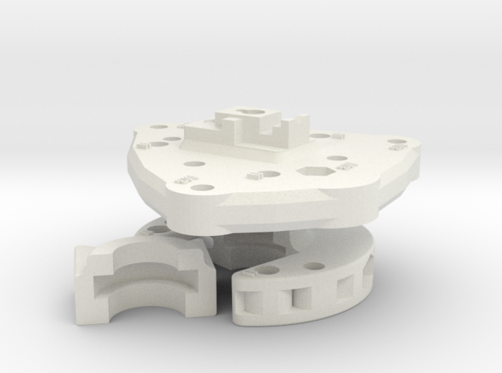 Clamp And Base Plate 3d printed