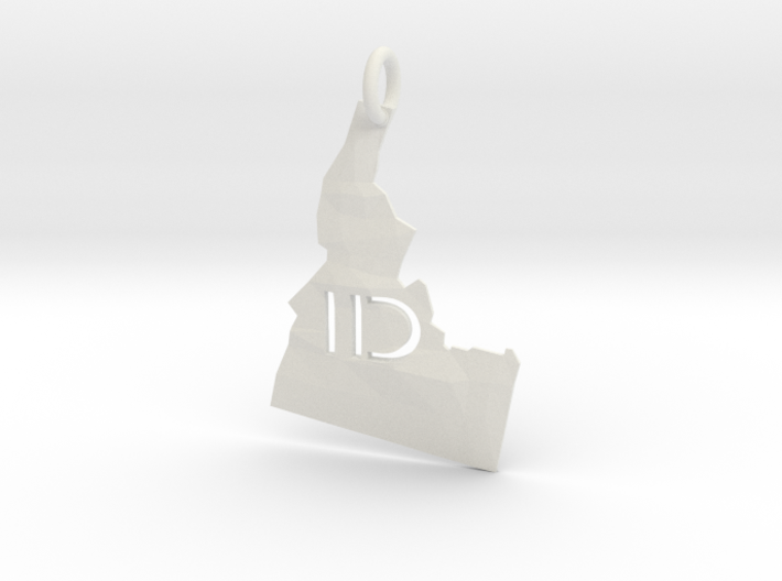 Idaho State Pendant 3d printed