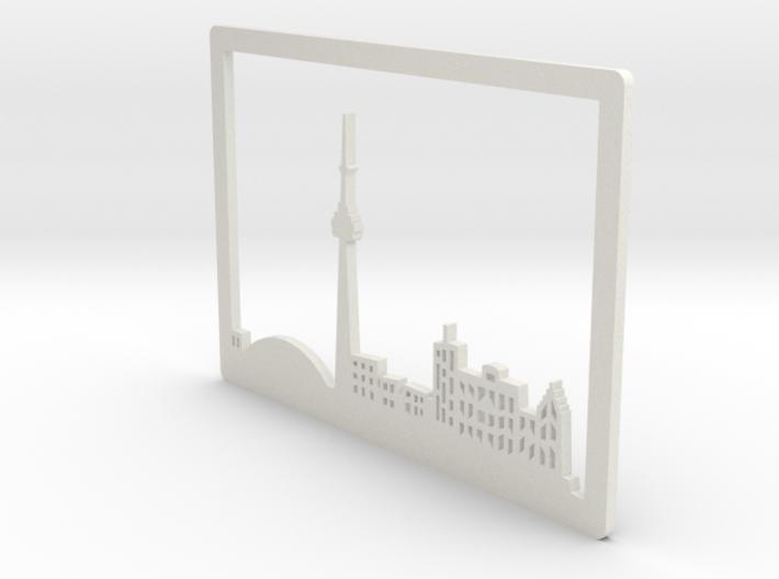 Toronto Skyline - Bookend 3d printed