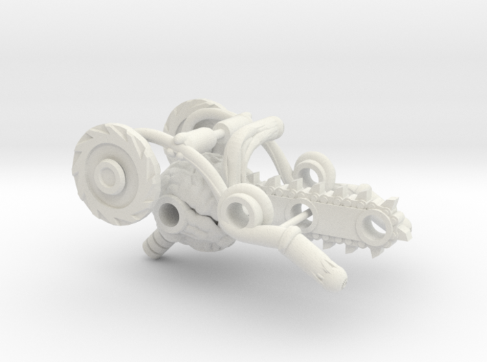 BMOG Brainsaw 3-Part Kit 3d printed