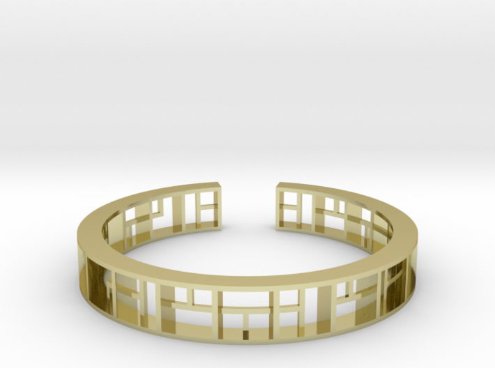WINDOW Bracelet Medium Size D=60mm 3d printed