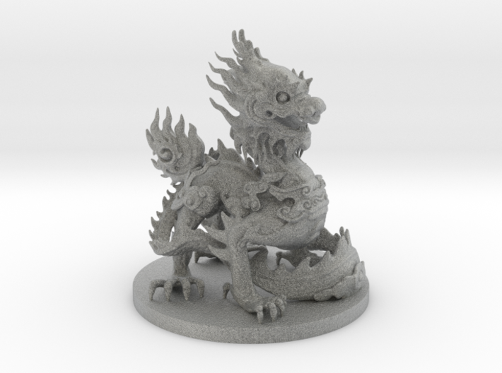 Imperial dragon 3d printed