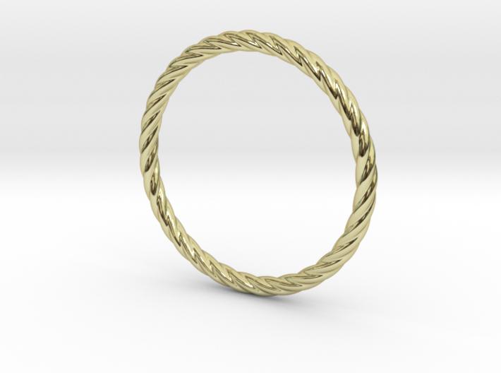 Twist Bracelet 68 3d printed