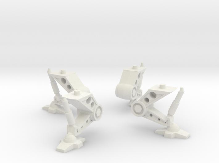 Flat Bottom Saucer Gear 3d printed
