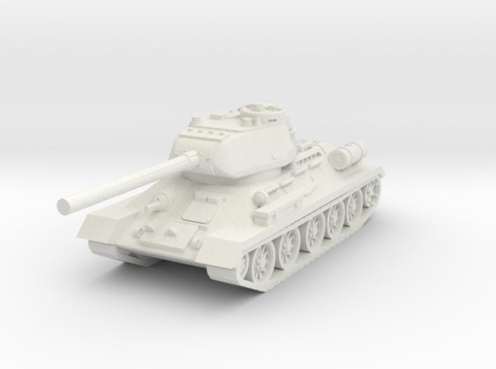 T34-85 USSR tank 3d printed
