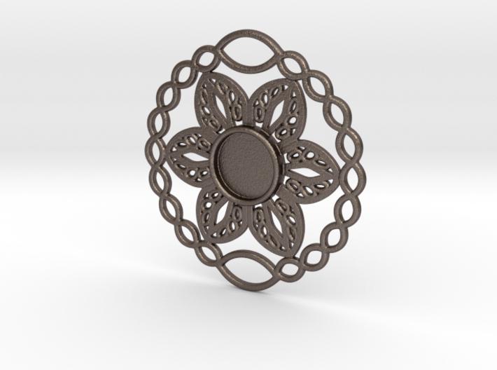 Flower charm 3d printed