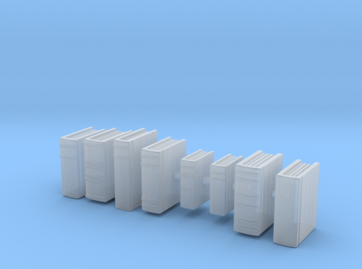 Books: Set of Books. Version 2 3d printed