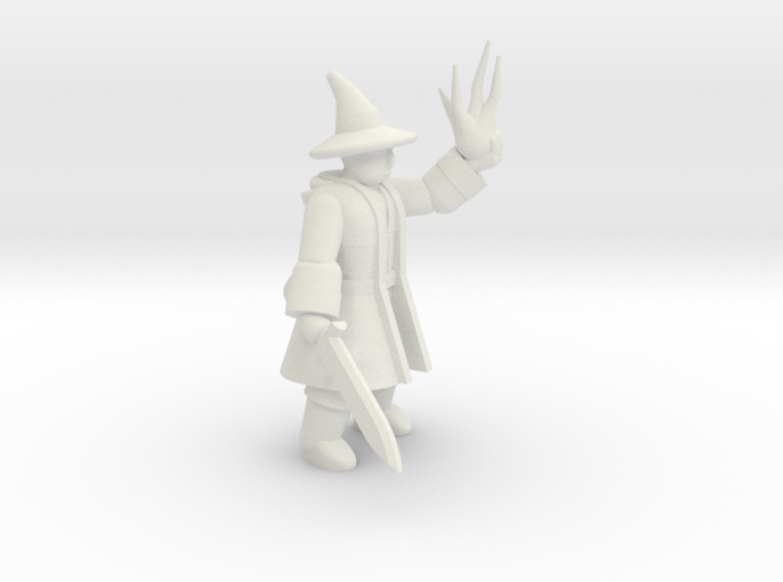 General Wizard Mini (Sword and Spell) 3d printed