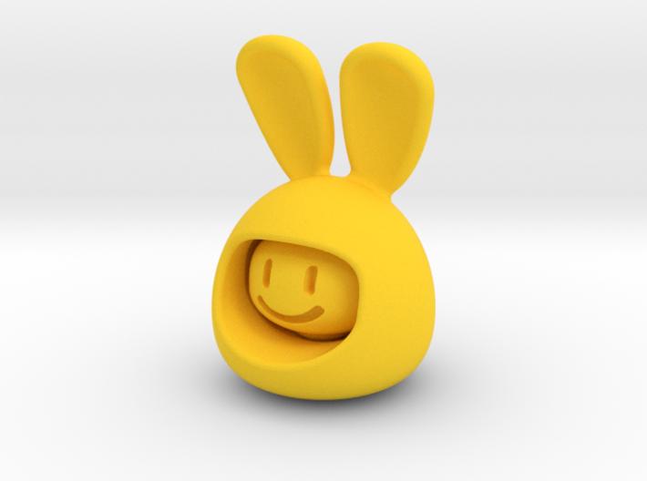 Emoji Rabbit 3d printed