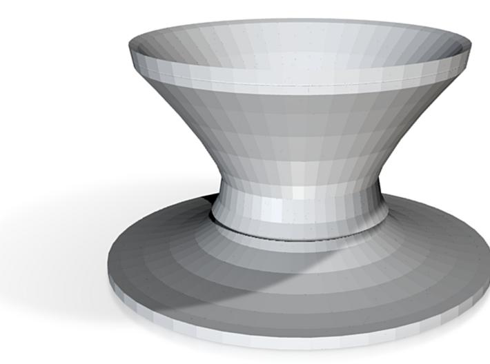 top hat vase 3 3d printed