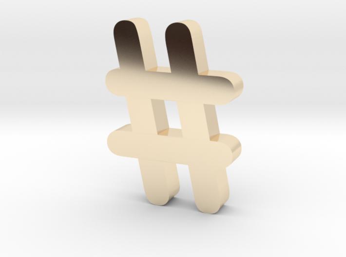 Hash 3d printed